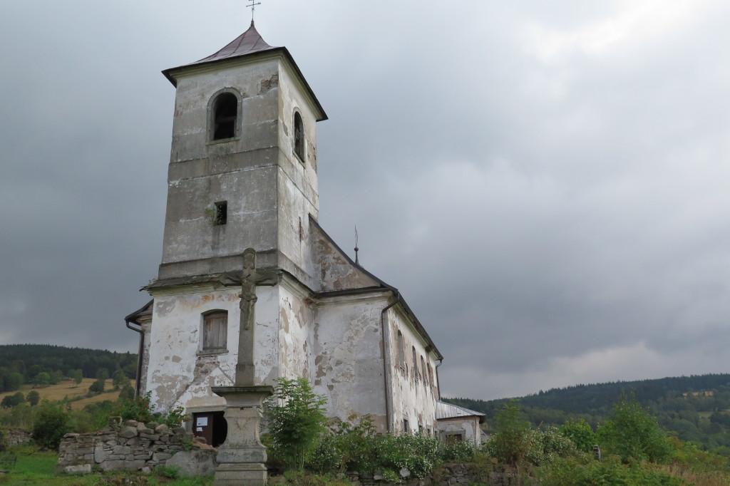Kostel ve Vrchní Orlici